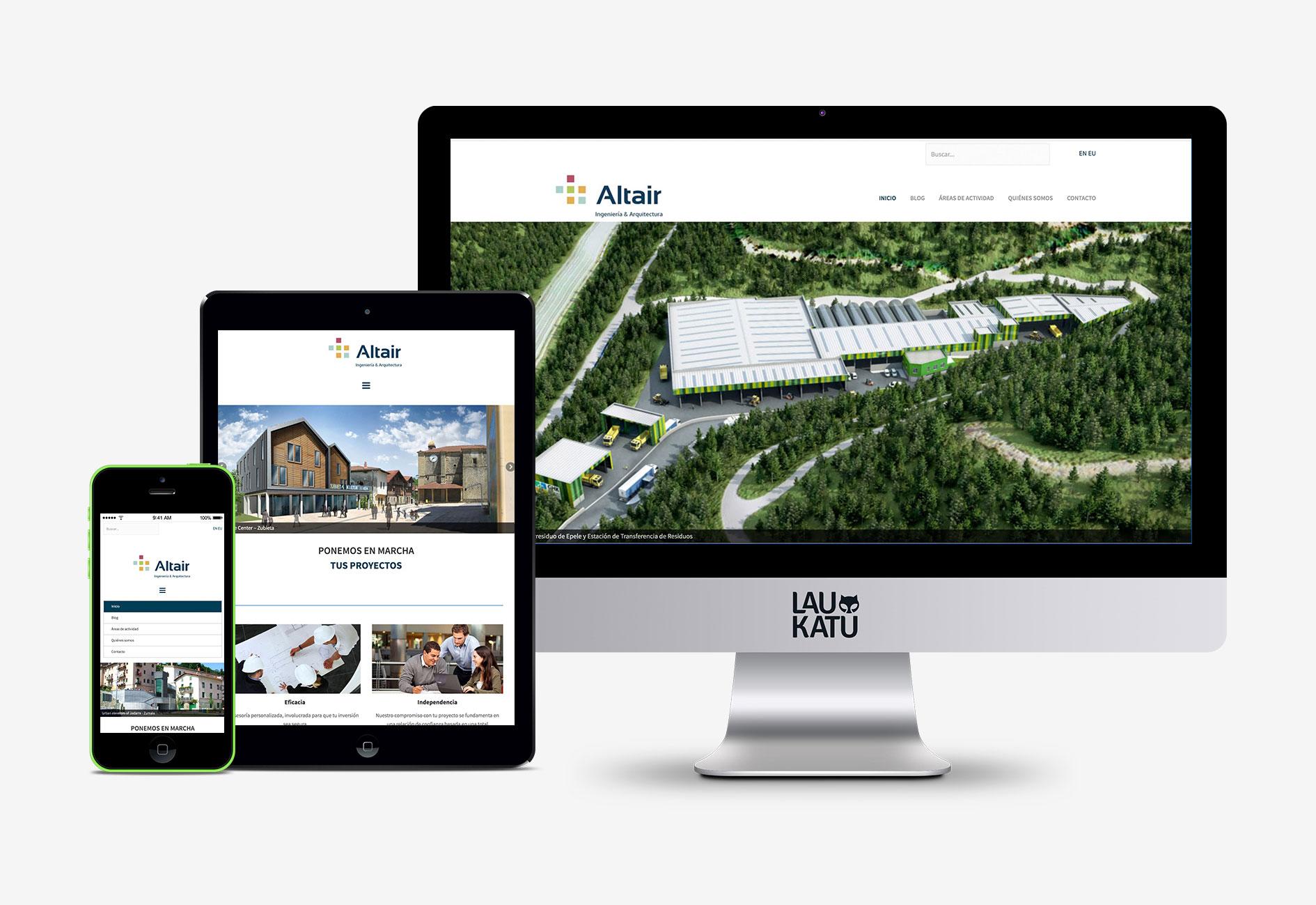 Web ingeniería Altair